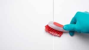 como limpiar las juntas del suelo