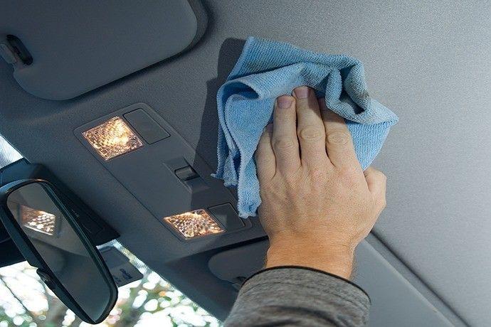 como limpiar el techo del coche