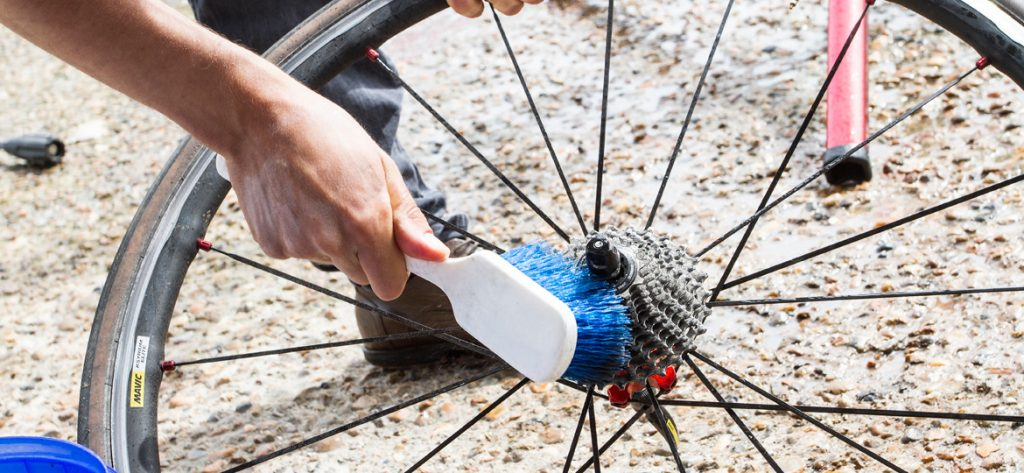 como limpiar una bicicleta