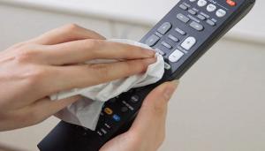 como limpiar el mando a distancia