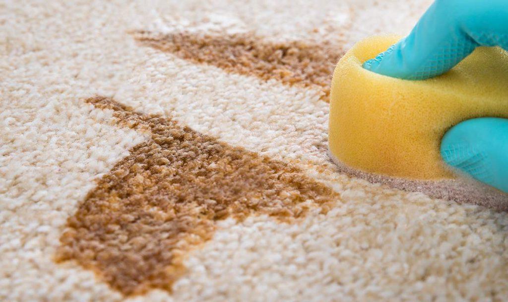 como limpiar una alfombra de lana