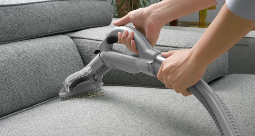 como desinfectar el sofa con vapor
