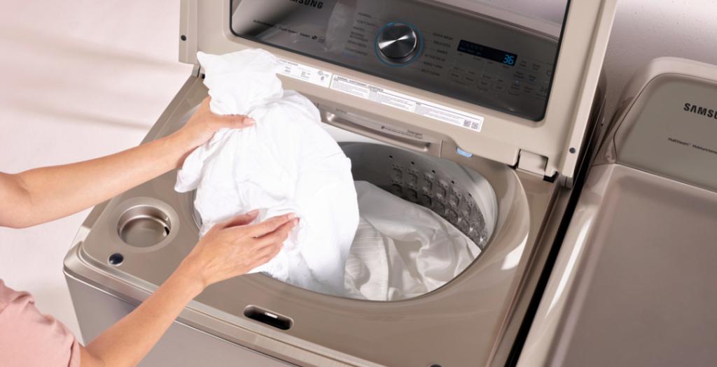 como limpiar una lavadora samsung